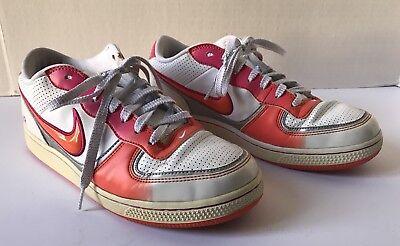 familia regalo trabajo duro  Women's Nike Air Athletic Shoes Orange Pink White 318489-181 Size 8.5  Sneakers | eBay
