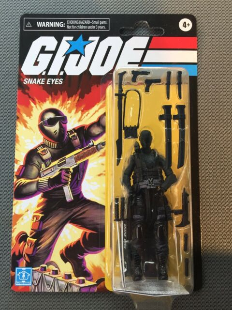 GI Joe 3.75 Inch 2020 Walmart Exclusive Action Figure: Snake Eyes *NEW