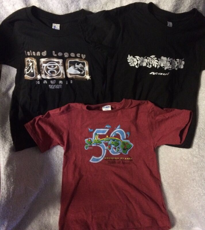 New Without Tags Set Of 3 Kids Hawaii Tshirts