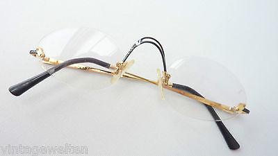 Damen-accessoires SchöN Brille Luxus Head By Vidivici Eyecatcher Randlose Designerbrille Gold Grösse M Letzter Stil