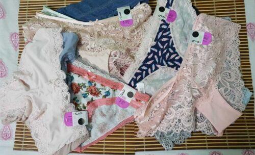 Knickers Brazilian Lace Panties Ladies Briefs Full Bum Knickers Girls Shorts