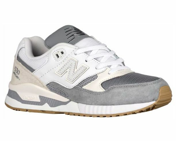New Balance W530AB:NB Classic 530 Summer Wave Steel/Blanc Casual Comfort Sneaker