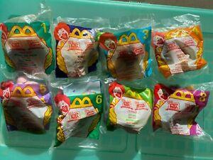 McDonalds Disney Winnie The Pooh Plush Keychain Stuffed Happy Meal Toys - Lot