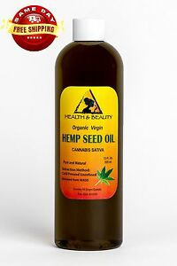 HEMP-SEED-OIL-UNREFINED-ORGANIC-CARRIER-VIRGIN-COLD-PRESSED-RAW-PURE-12-OZ