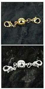 Strong-Magnetic-Clasp-Converter-Necklace-or-Bracelet-Easy-Clasp-Connector-K6