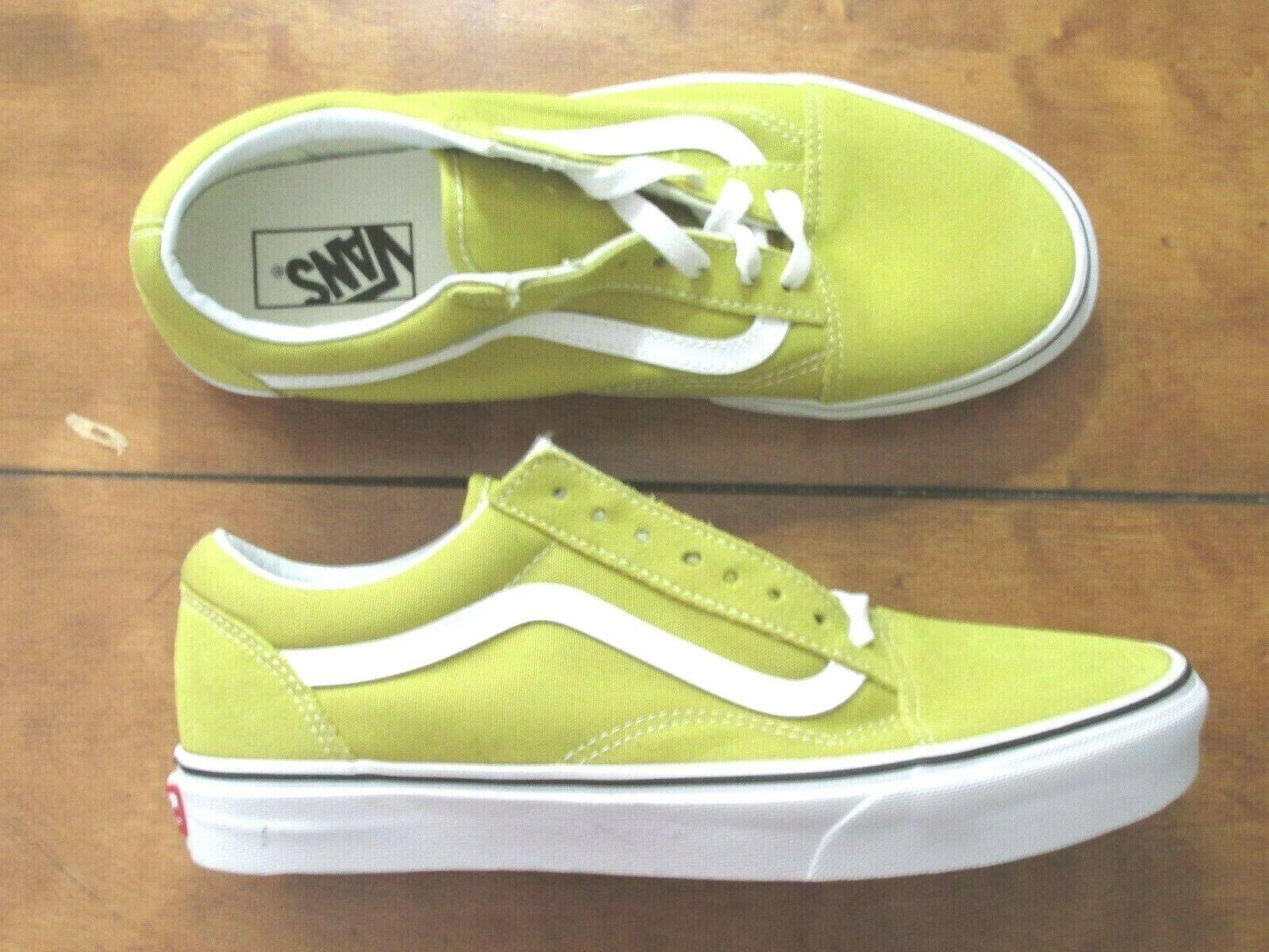 Men's Vans shoes old skool Canvas Suede color Mustard  Size 9.