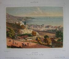 1841 ALGER prise de l'hopital Algeri al-Jazā'er Algiers Algeria Algérie
