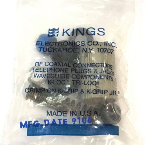 5 Contacts Plug Cable Mount  KINGS U-229//U DIN Audio Video Connector