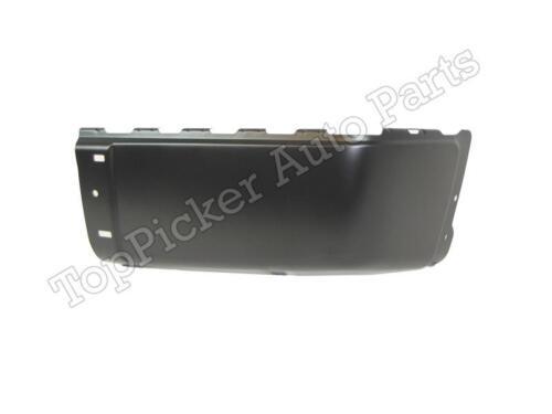 For 07-12 SILVERADO SIERRA 3500 DUAL WHEEL REAR BUMPER CAP BLK PAD SET 5 PCS