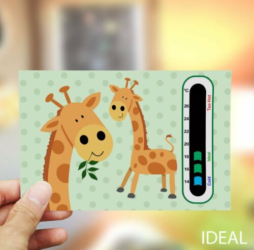 Duck Baby Bath and Giraffe Baby Room Thermometer Baby /& Child Thermometer Pack