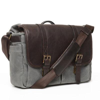 4ac8e8f8476c ONA 50/50 Brixton Canvas & Leather Camera/Messenger Bag (Smoke & Dark  Truffle) | eBay