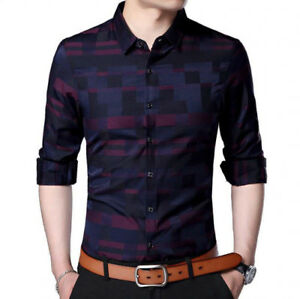 430cd537d Details about Camisas para hombres Nuevo estilo Moda para hombres Ropa de  trabajo Camisa Mejor