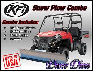 66 Blade for Polaris RANGER 900 XP 2013-2018 Snow Plow Kit Winch Equipped UTV