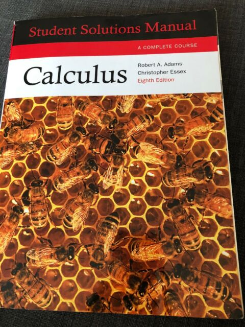 Calculus:Complete course student solutions manual by Robert A. Adams (Paperback,