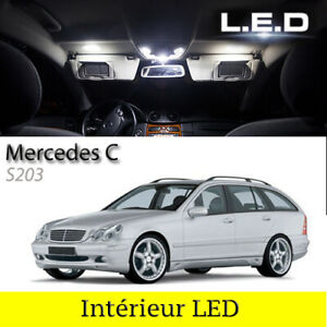 Kit-9-ampoules-a-LED-pour-l-039-eclairage-interieur-blanc-Mercedes-S203-Break