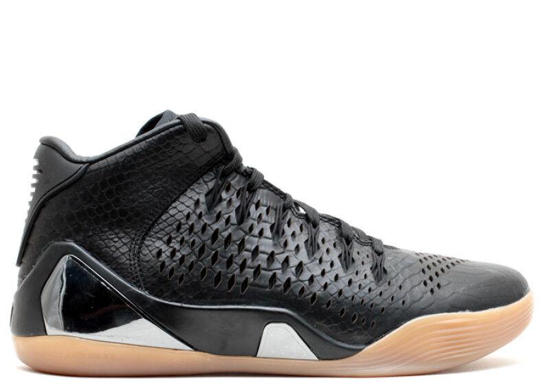 Nike Kobe IX 9 Mid EXT QS Black Snakeskin Gum
