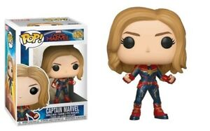Captain-Marvel-425-Funko-Pop-Vinyl-New-in-Box
