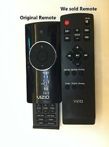 Image Is Loading New Replaced Vizio Sound Bar Remote Control For