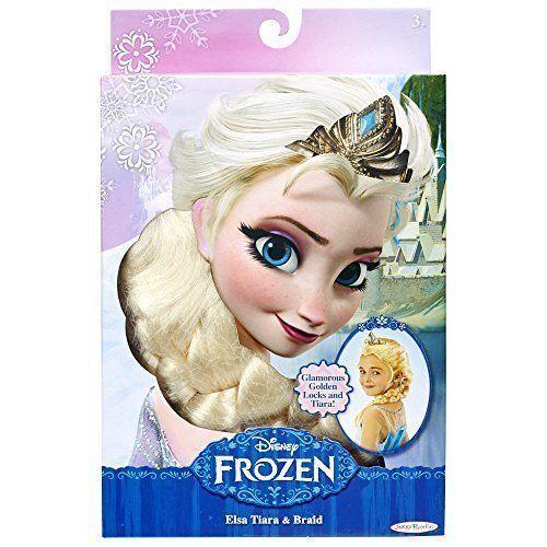 Disney Frozen Elsa/'s Tiara and Braid New Free Shipping