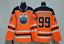 Wayne-Gretzky-Edmonton-Oilers-99-Jersey-Stitched-Orange-Men-039-s-Player-Game thumbnail 1