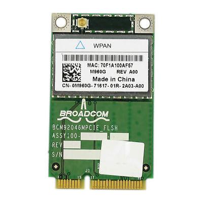 Wireless Bluetooth Card WPAN M960G 0M960G For Dell E5400 E5500 E6400 E6500 M2400