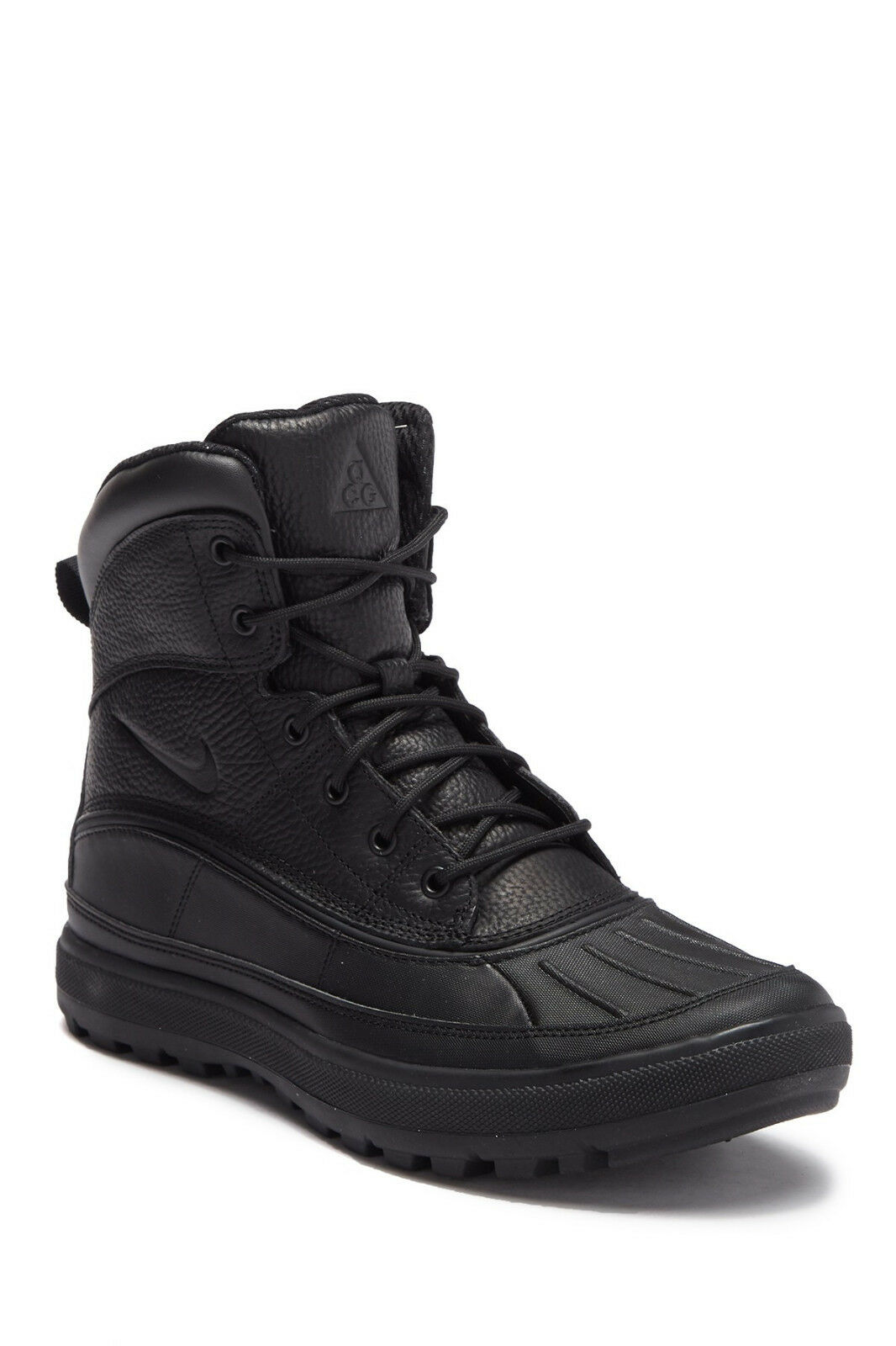 Nike ACG Woodside II 2 Leather High Winter Boots Black 525393-090