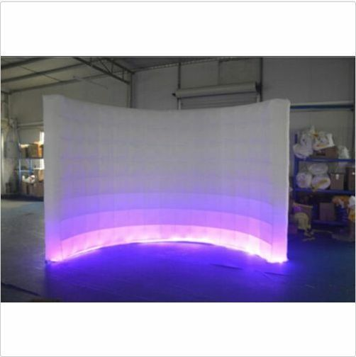 Inflatable LED White Photo Booth Wall - Weddings Birthdays  Events Adgreenising BI  hot sale online