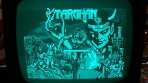 jeu amstrad 464 / 664 / 6128 disquette testé  TARGHAN