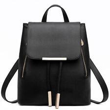 Women Leather Backpacks Schoolbags Shoulder Bag Mochila Rucksack Satchel D1