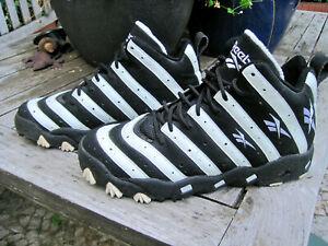 sports shoes 9a1f7 c37ea Details zu Reebok Big Hurt Frank Thomas black/White Orig. 90's Zebra Shoes  EUR 40,5/42,5