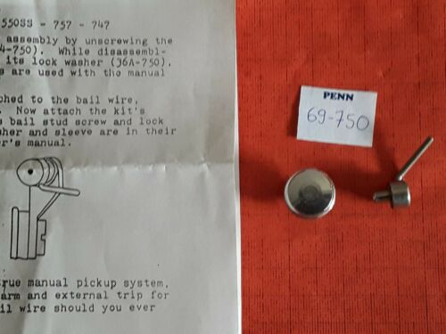 PART 69-750 Counter Balance Manual Pick Up REEL PENN 757 747 SS 550 650 750 850