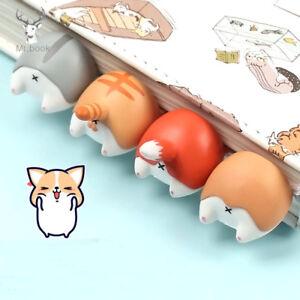 1PC Lovely Cartoon Dog Cat Hamster Fox Ass Bookmarks Novelty Book Reading Gift