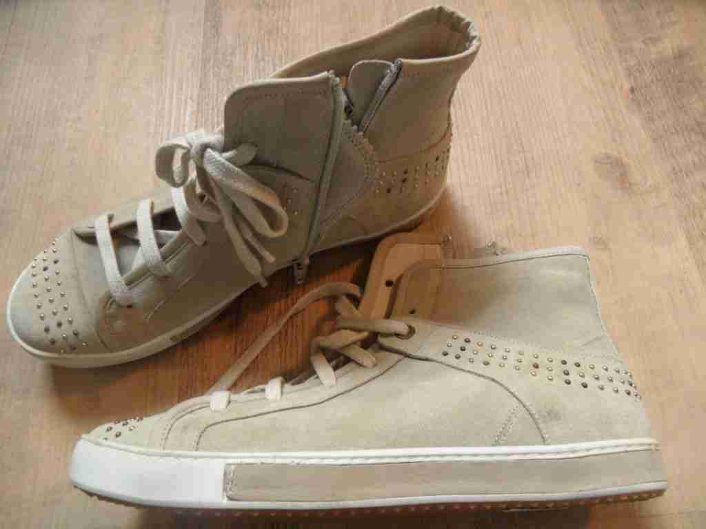VIA VAI hochwertige Stiefel helles sand Gr. 37 NEU ZC1116