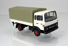 Brekina 34703 Magirus-Deutz MK Pianale-Plane Camion-Bianco