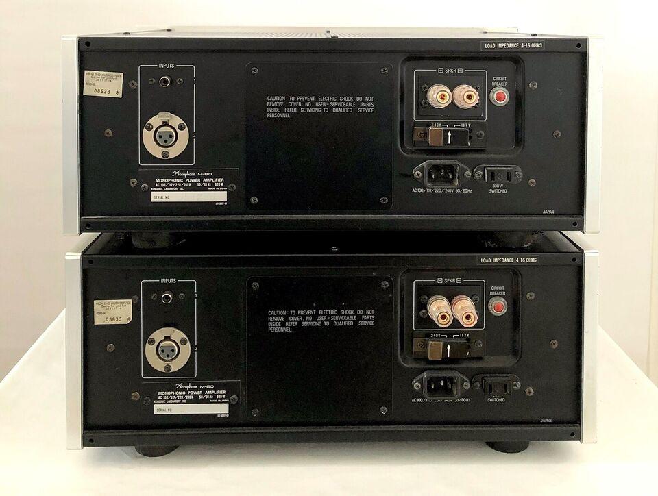 Effektforstærker, Accuphase, M-60