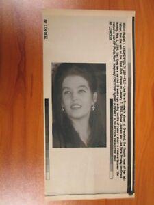 Vtg-Wire-AP-Press-Photo-Lisa-Marie-Presley-Elvis-Daughter-Michael-Jackson-Ex-2