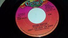 "WAYNE NEWTON Can't You Hear The Song? CHELSEA 0105 POP 45 7"" VINYL"