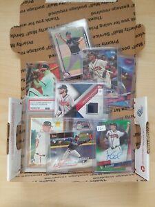 MLB Team Grab Bag 25 card Lot w/ Hits Rookies Inserts #ed serial Graded LOADED