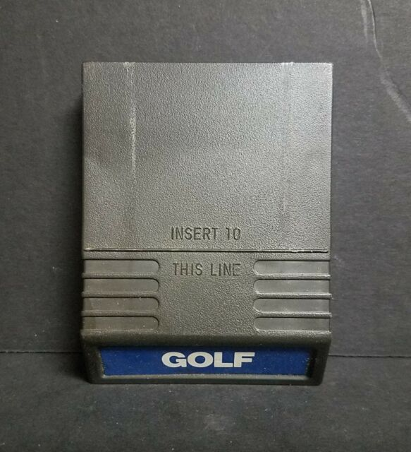 Golf (Intellivision, 1980) Cart Only
