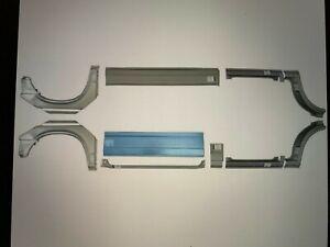 VW-TRANSPORTER-T4-SWB-MWB-1990-2003-REPAIR-PANEL-DOORSTEP-SILL-WING-SET-OF-10