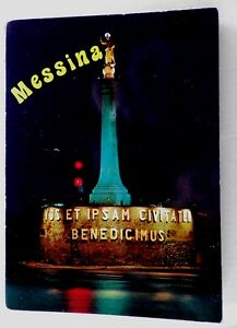Postcards-of-Messina-Italy-A-Vintage-Fold-out-20-Color-Photographs