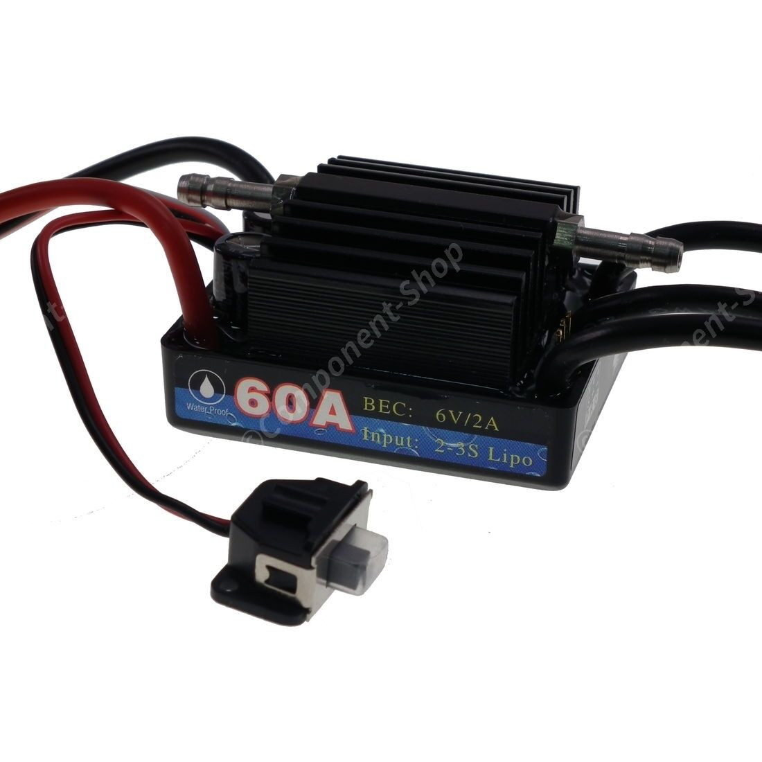 60A Marine V3 Waterproof Brushless Motor Speed Controller (ESC)