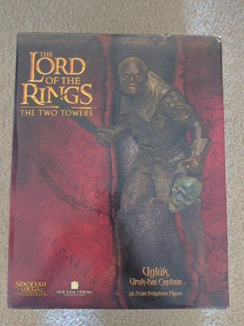 Sideshow Weta UGLUK URUK HAI CAPTAIN Statue Lord of the Rings LotR Polystone