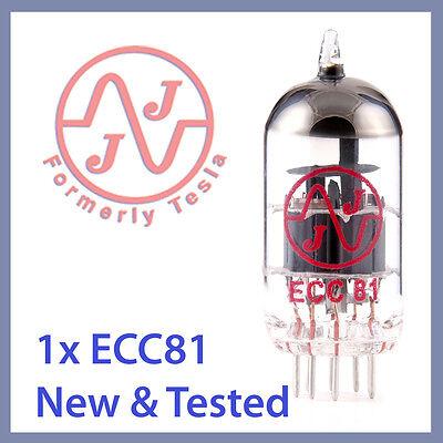 1x NEW JJ Tesla 12AT7 ECC81 Vacuum Tube, Balanced Triodes