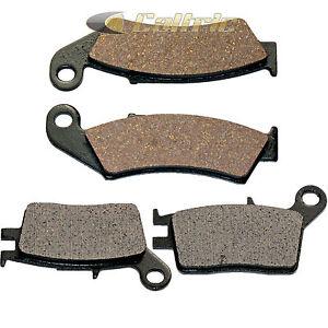 Front-amp-Rear-Brake-Pads-for-Honda-NX250-NX250J-AX-1-1988-1989-90-1991-92-93-1994