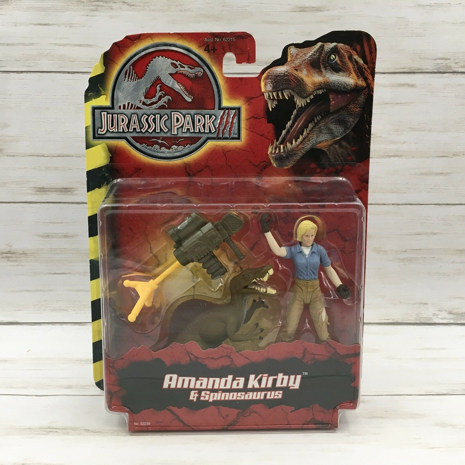 New Hasbro 2000 Jurassic Park 3 Amanda Kirby & Spinosaurus Action Figure  62239