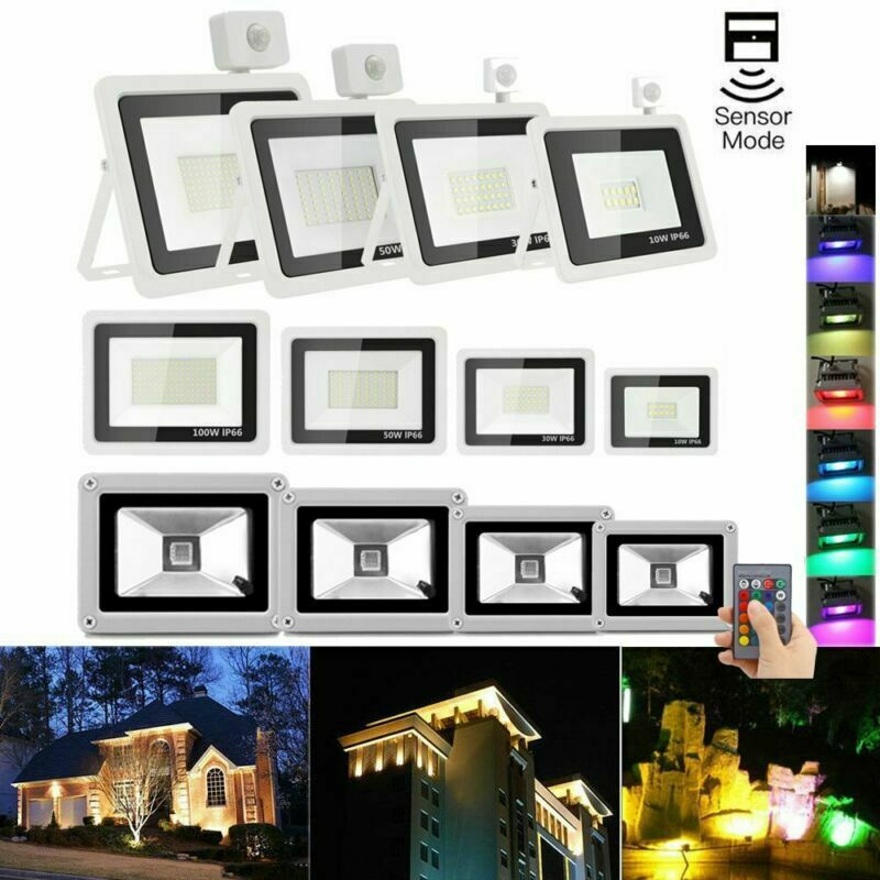 LED eh reflector colocado emisor 10w 20w 50w 100w SMD exterior faros ultra thin