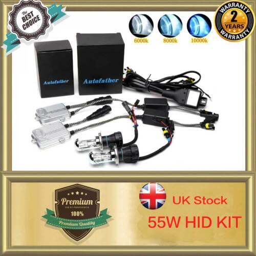 UK Hid Conversion Kit 9006 H1 H3 H4 H7 H11 9005 Xenon Headlight Bulb 55W Ballast