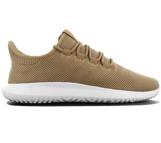 new style 7c276 de89e Adidas Originals Tubular Shadow Sneaker Scarpe da Ginnastica Marrone Ac7013