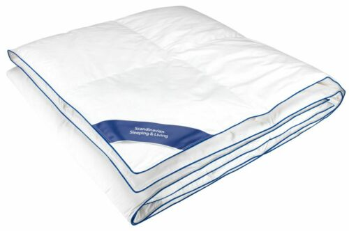 Quality Duvet Duck Down Feather 10.5 Tog Single Double King Size 100% Cotton